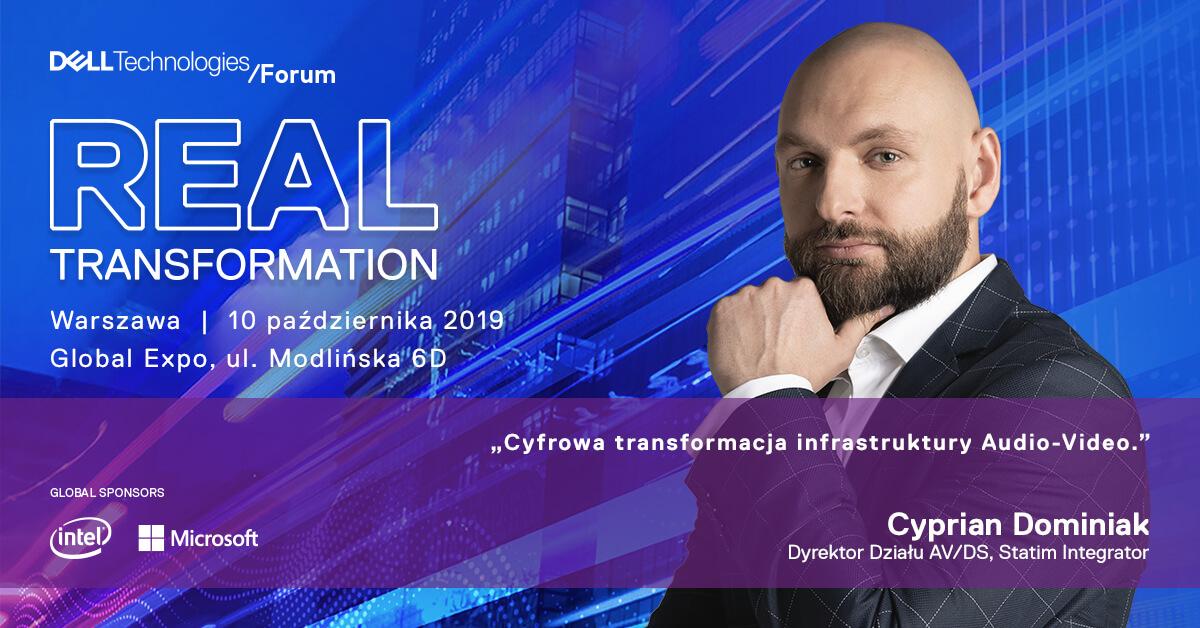 Zapraszamy na Dell Technologies Forum
