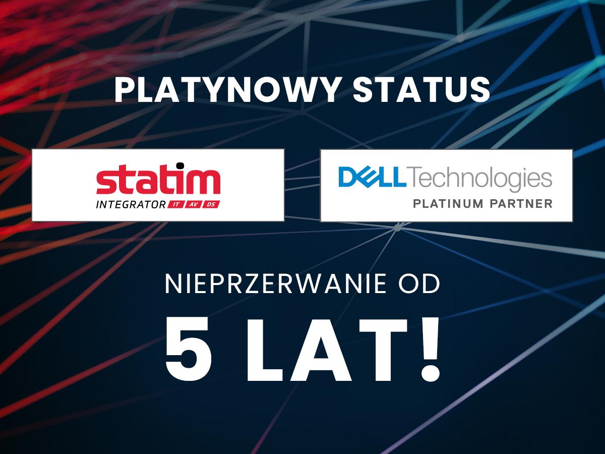 Platynowy Tytuł Partnera Dell Technologies po raz 5!