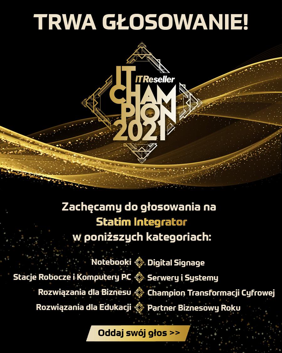 IT Champions 2021 – zachęcamy do głoswania